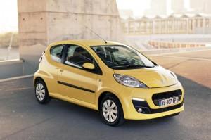 Peugeot 107- petite voiture écologique
